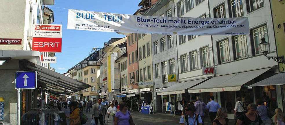 Blue Tech 2011 Slidedeck Feature Blue Tech 2011: Marktplatz der Energie