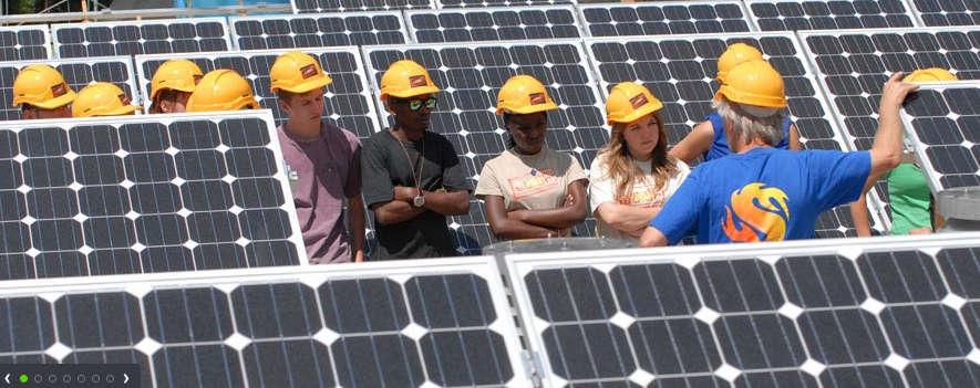 Greenpeace Solar Workshop Blue Tech 2011: Marktplatz der Energie