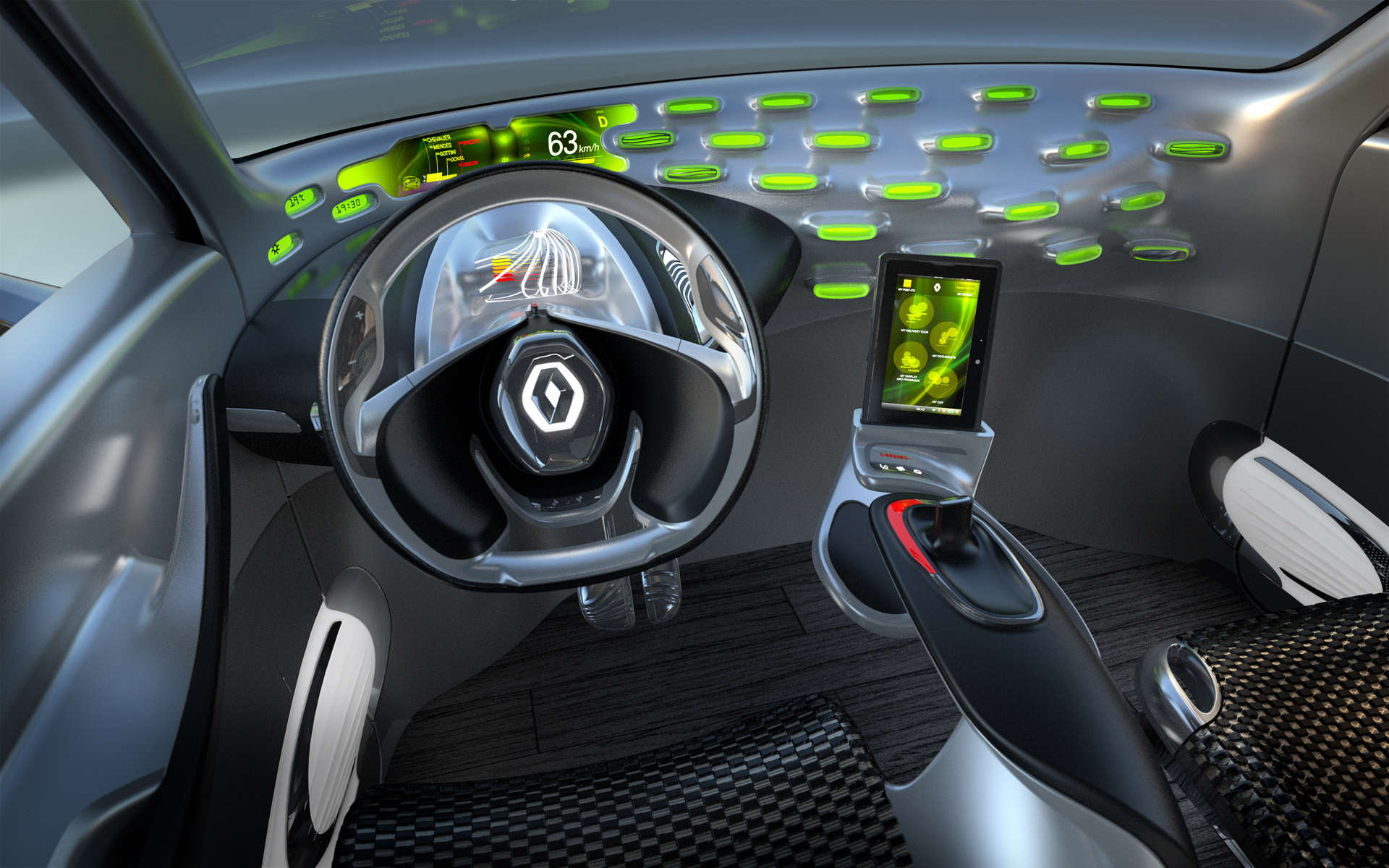 Renault Frenzy Cockpit View Klimafreundliche Autos helfen Steuern sparen