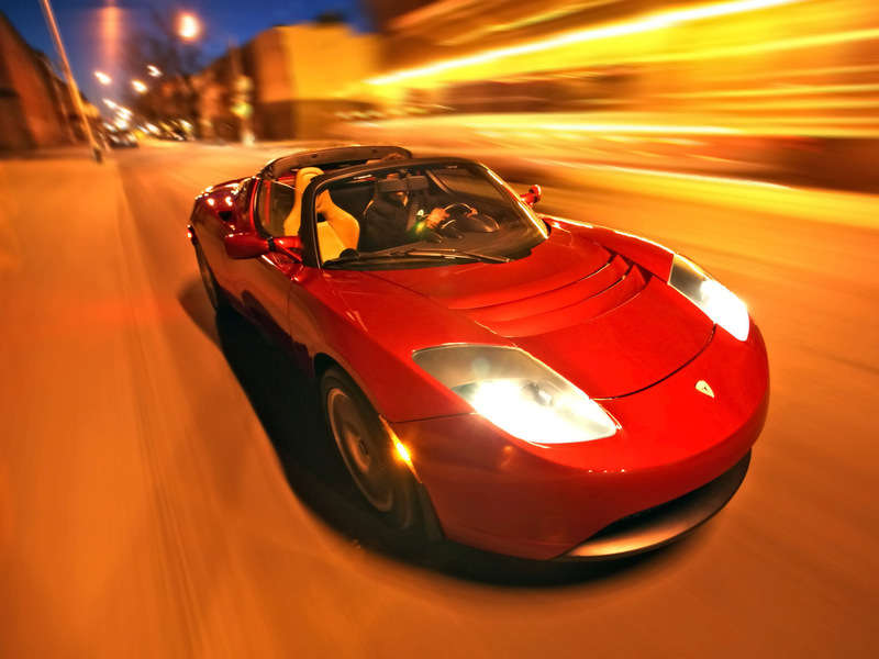 Tesla Roadster 2008 Klimafreundliche Autos helfen Steuern sparen