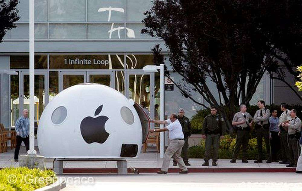 Apple Greenpeace iPod-opening