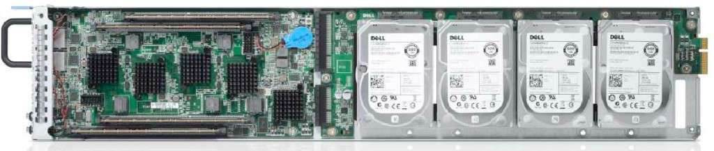Dell Copper ARM Server Sled