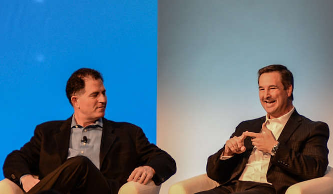 Dell World 2012 - Michael Dell - Marius Haas