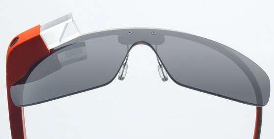 Google Glass Stock Image
