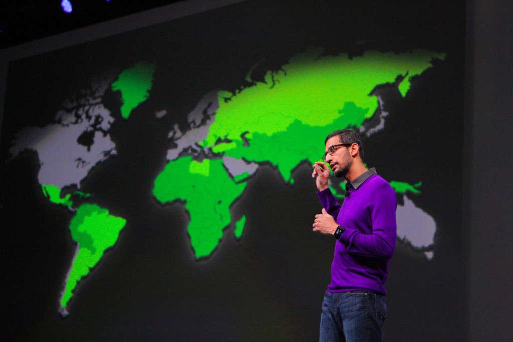 Google IO Laender mit niedriger Android Verbreitung