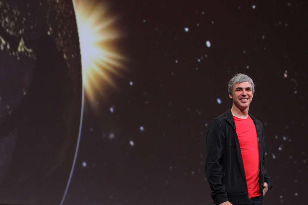 Google IO Larry Page 2013