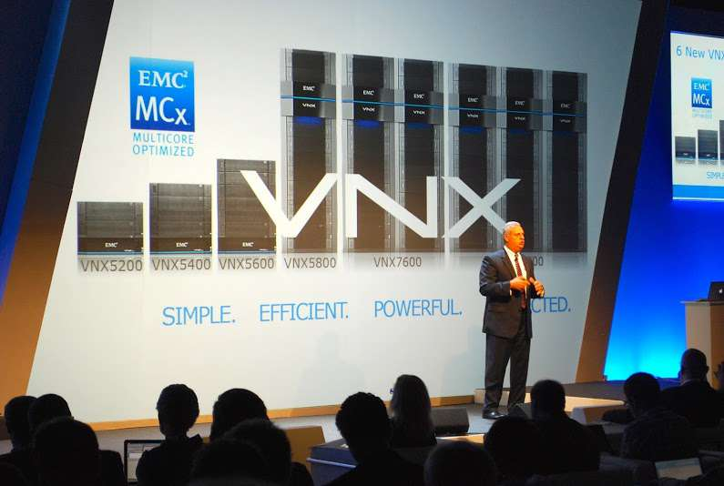 Rich Napolitano, EMC President Unified Storage Divsion