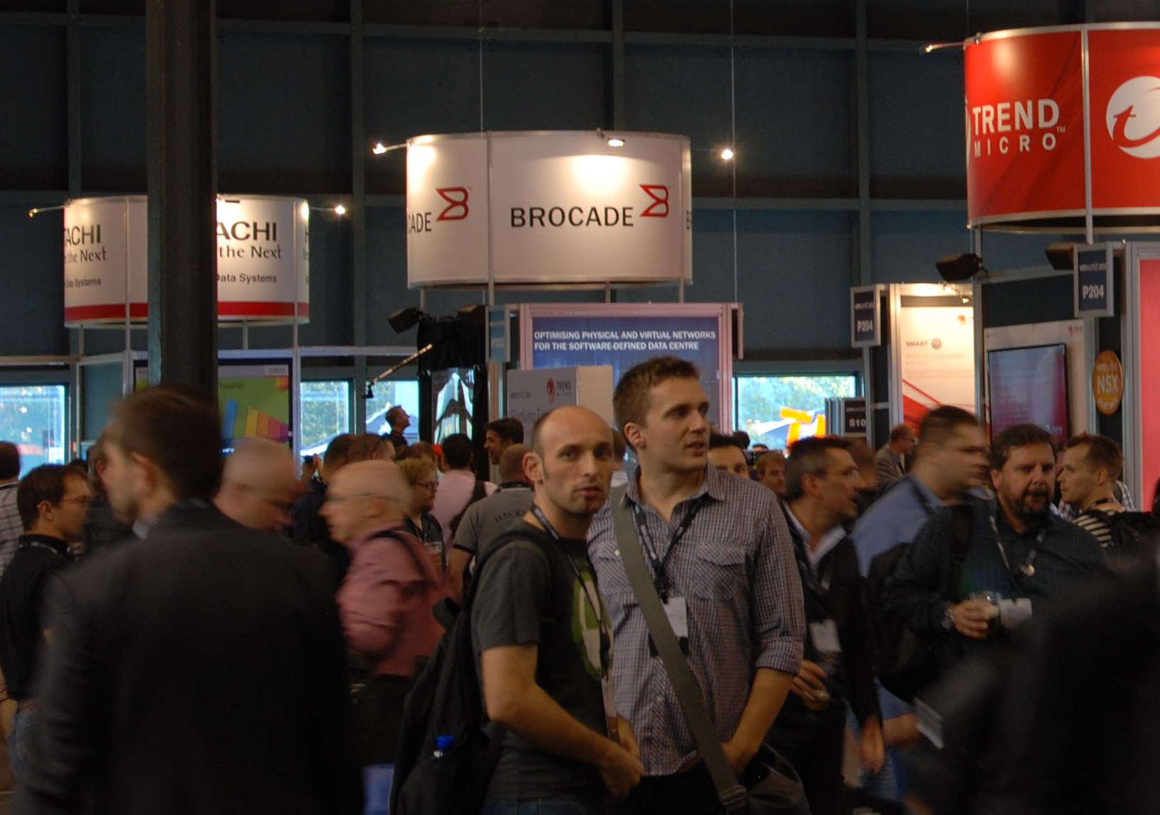 VMware 2013- Showfloor -p1