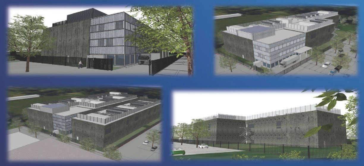 Swisscom Rechenzentrum Wankdorf - Endausbau-Illustration