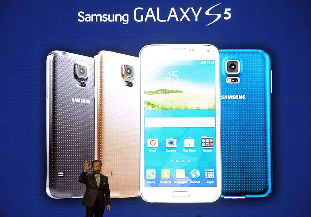 Samsung MWC Barcelona Galaxy S5