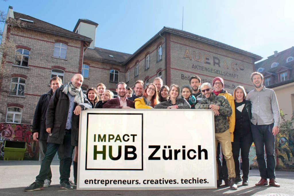 Impact Hub Zürich Team 2015