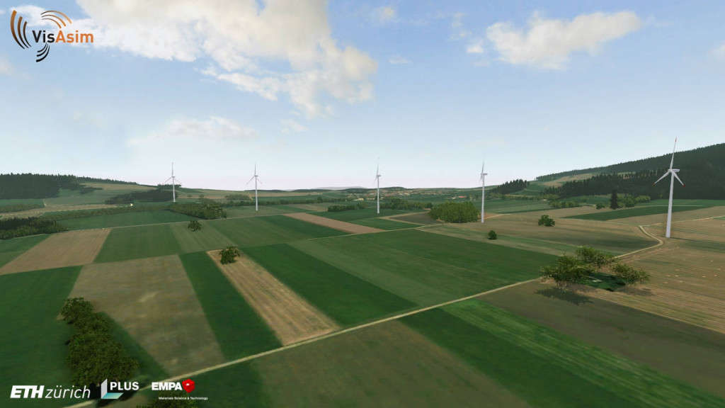 VisAsim-Windpark 1