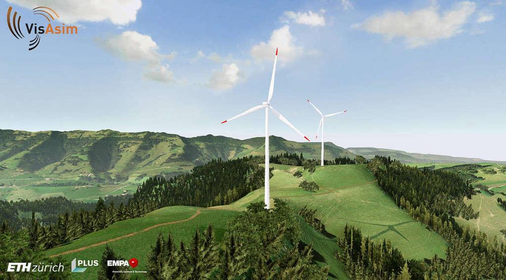VisAsim-Windpark 2